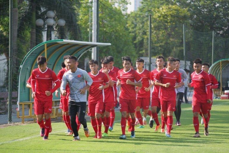 Chiều qua ĐT U19 Việt Nam đã tập trung trở lại sau quãng thời gian nghỉ