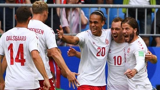 Chỉ cần hòa, đội tuyển Đan Mạch sẽ giành vé đi tiếp.